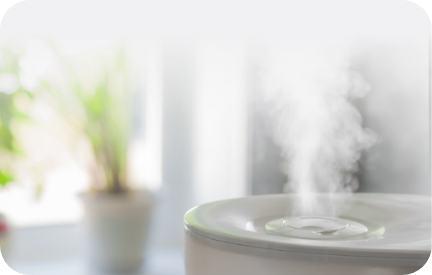 空間噴霧でより清潔に