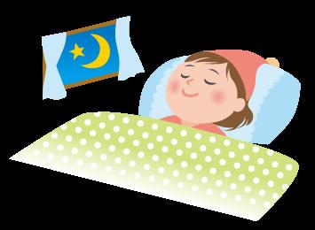 就寝時は通常噴霧で加湿&除菌